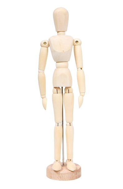 Body Form Lad Doll Toy Boy Mannequin Figure Number