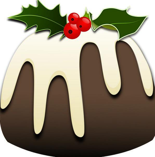 Christmas Xmas Pudding Season Festive Celebratory
