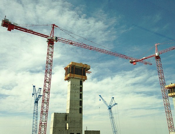 Construction, Building, Hoists, Building Construction, Cranes, Crane