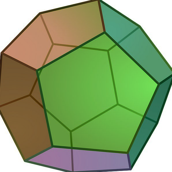Geometry Dodecahedron Pyritohedron Pyritohedral Sy