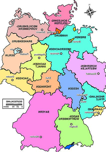 Regions Of Germany Map.Germany Chart Political Party Political Map Regions Areas