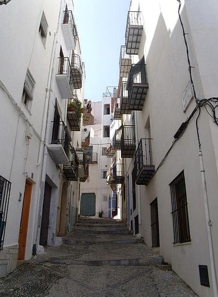 Streets Roads Angles Spain Corners Alleys Backstre