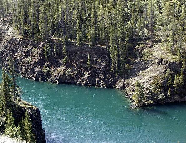 Yukon River Landscapes Nature Canada Yukon Territo