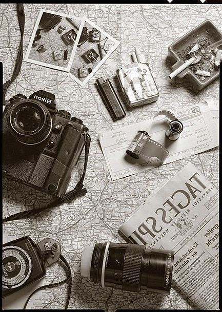 Black Dark Vacation Travel Black And White Photo B