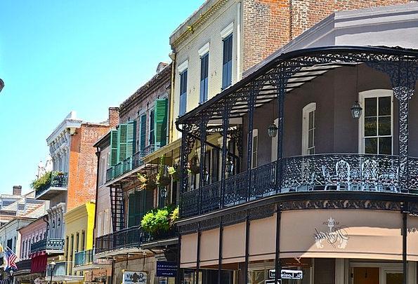 New Orleans Buildings Architecture Skyline Horizon