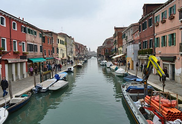 Venice Boats Ships Italy Docks Harbors Channel Ven