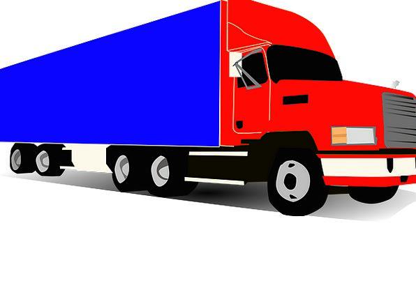 Truck Car Traffic Transportation Trucker Teamster