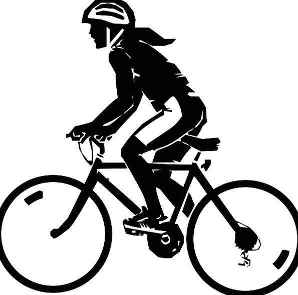 Woman Lady Fashion Equestrian Beauty Bicycle Bike