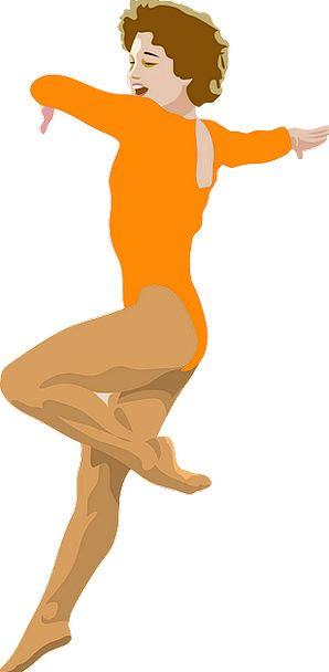 Dancer Ballerina Bopping Female Feminine Dancing F