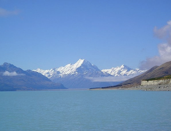 New Zealand Landscapes Nature Aoraki Mount Cook Mo