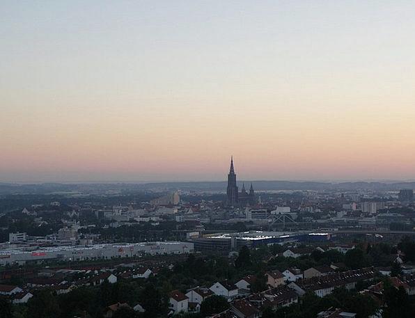 Ulm Vacation Dawn Travel Sunset Sundown Sunrise Ou