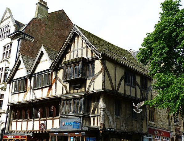 Oxford Buildings Architecture England Old Town Bui