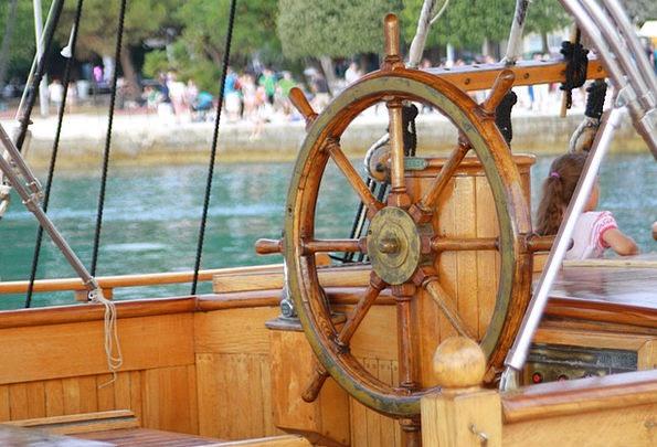 Ship Vessel Navigate Steering Weel Sail Maritime N