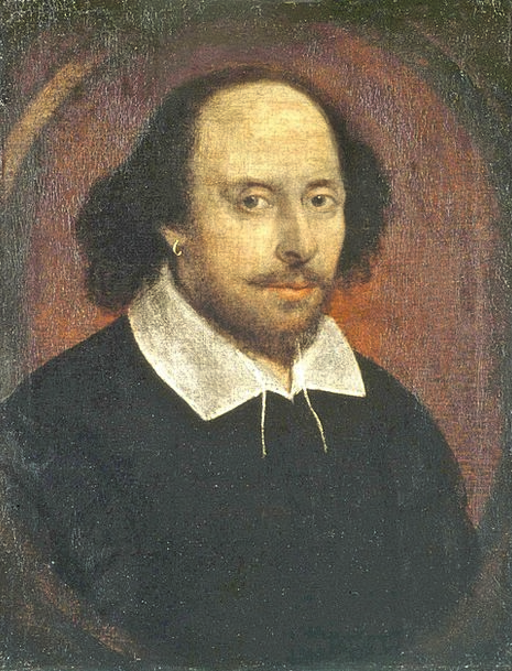 Shakespeare Bard Writer Poet Bald Head Author Canv