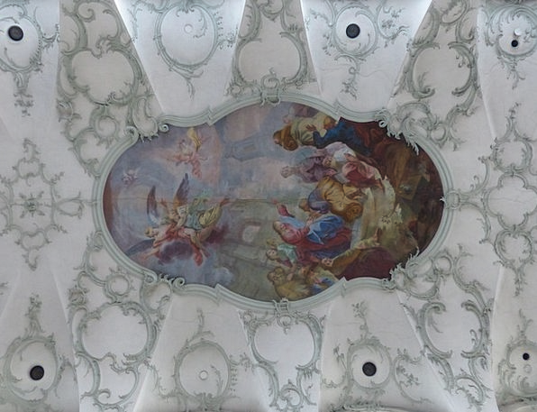 Ceiling Painting Comprehensive Collegiate Church O