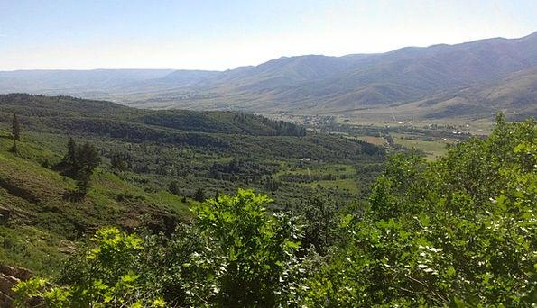 Mountains Crags Utah Ogden Valley