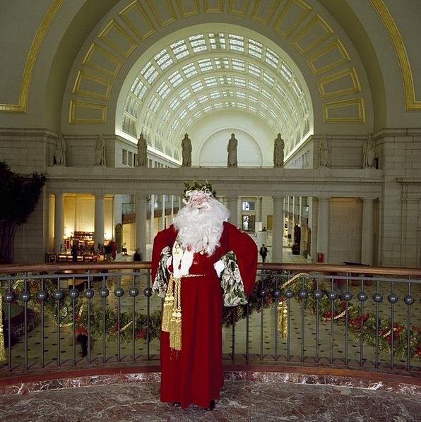 Santa Claus Man Gentleman Christmas Person Being C