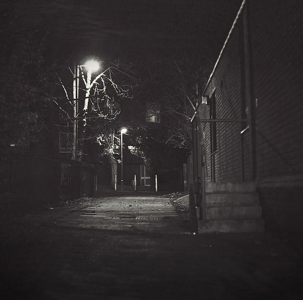 Night Nightly Traffic City Transportation Dark Dim