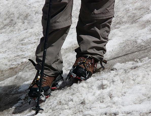 Hiking Shoes Snowflake Crampon Snow Non Slip Bergt