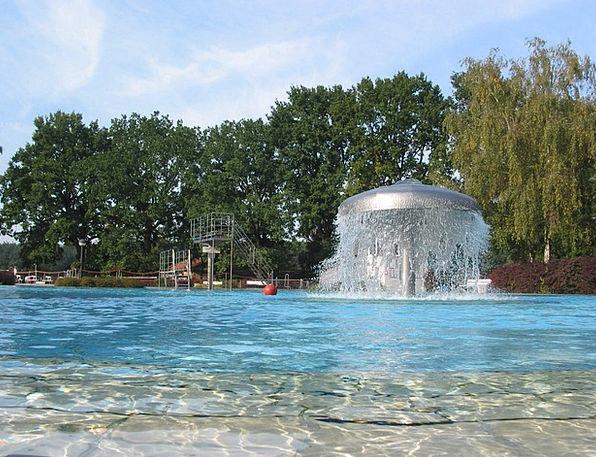 Outdoor Pool Lido Dip Whirlpool Eddy Swim