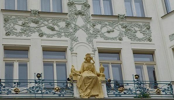 Prague Buildings Home-based Architecture Ornaments
