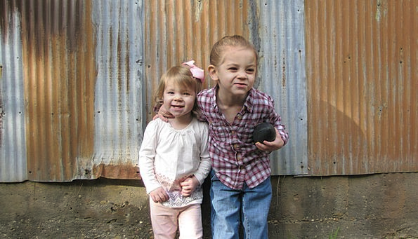 Siblings Brothers New Kids Young Smiling Children