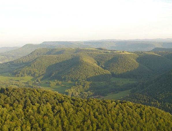 Alb Landscapes Nature Landscape Scenery Swabian Al
