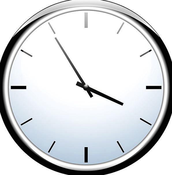 Clock Timepiece Period Hour Time Minute Miniature