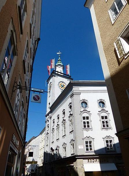 Salzburg City Hall Buildings Architecture Salzburg