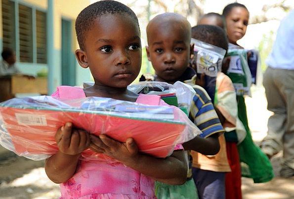 Tanga Children Broods Tanzania Care Packets Boys O