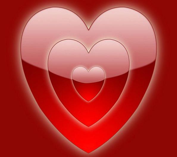 Red Bloodshot Day Diurnal Valentine Heart Emotion
