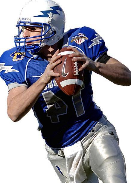 Quarterback Sport Diversion American Football Shea