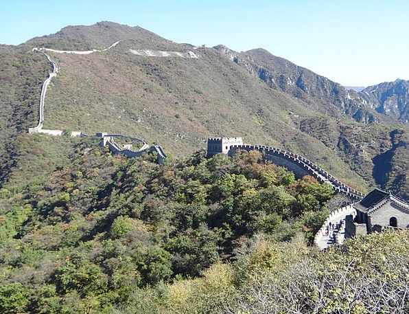 The Great Wall Mountains Crags Beijing