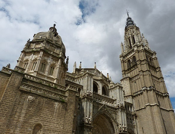 Toledo Church Ecclesiastical Cathedral Imposing Do