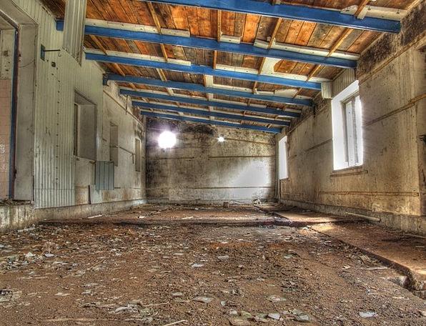 Hdr Old Ancient Garage Abandoned Wild Hall Worksho