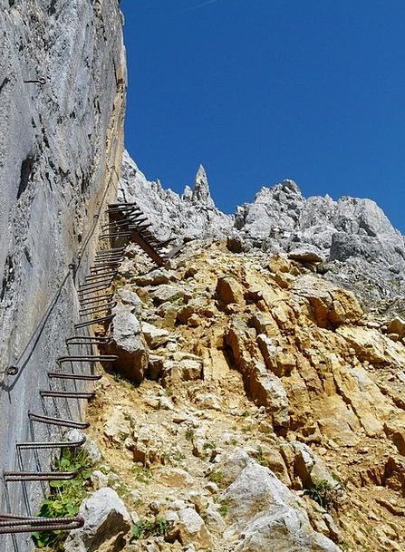 Gamsängersteig Medical Uphill Health Shoring Climb