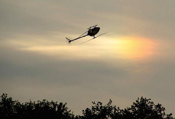Model Helicopter Similar Halo Corona Like Model Fl