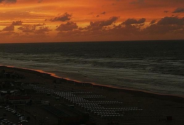 Sea Marine Vacation Sundown Travel Ocher Yellowish