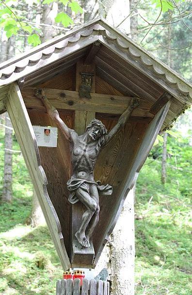 Wayside Cross Christ