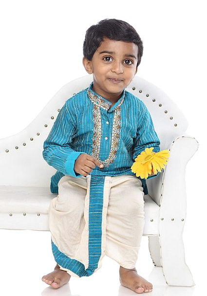 Boy Lad Content Child Youngster Happy Studio Child