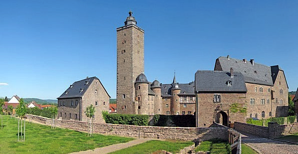 Castle Stronghold Steinau Fortress Germany Hesse F