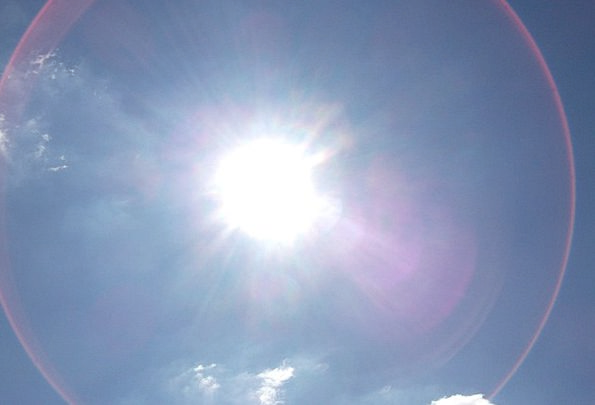 Halo Corona Light Bright Sun Rays Emissions Heat S