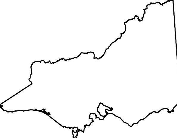 Victoria State Australia Map.Victoria Chart Australia Map State National Pixcove