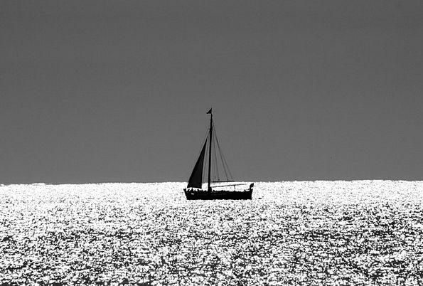 Boat Ship Landscapes Dinghy Nature Sail Navigate S