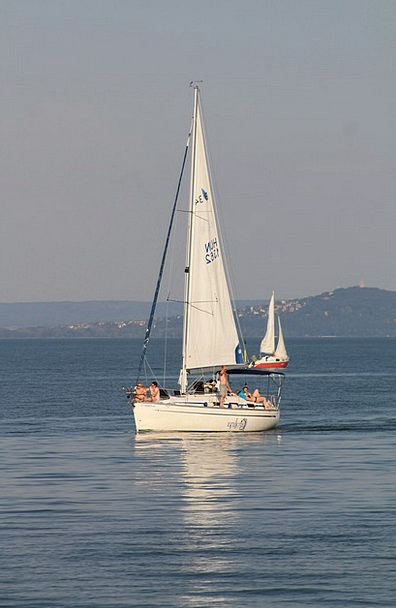 Ship Vessel Marine Lake Balaton Sailing Water Aqua