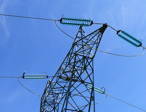 Pylon Tower Electronic High Voltage Electric Metal