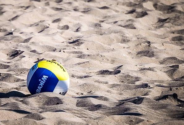 Volleyball Sphere Beach Seashore Ball Game Willing