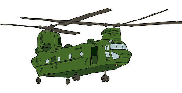 Chinook Ch-47 Chinook Boeing Flying Ch-47 Aircraft