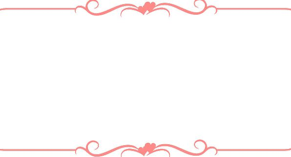 . Frame  Edge  Pink  Flushed  Border  Design  Project  Ribbon