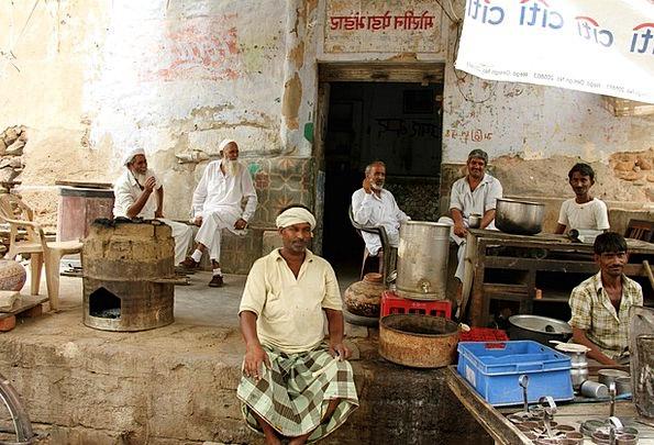 Rajasthan Man Group Café Scene